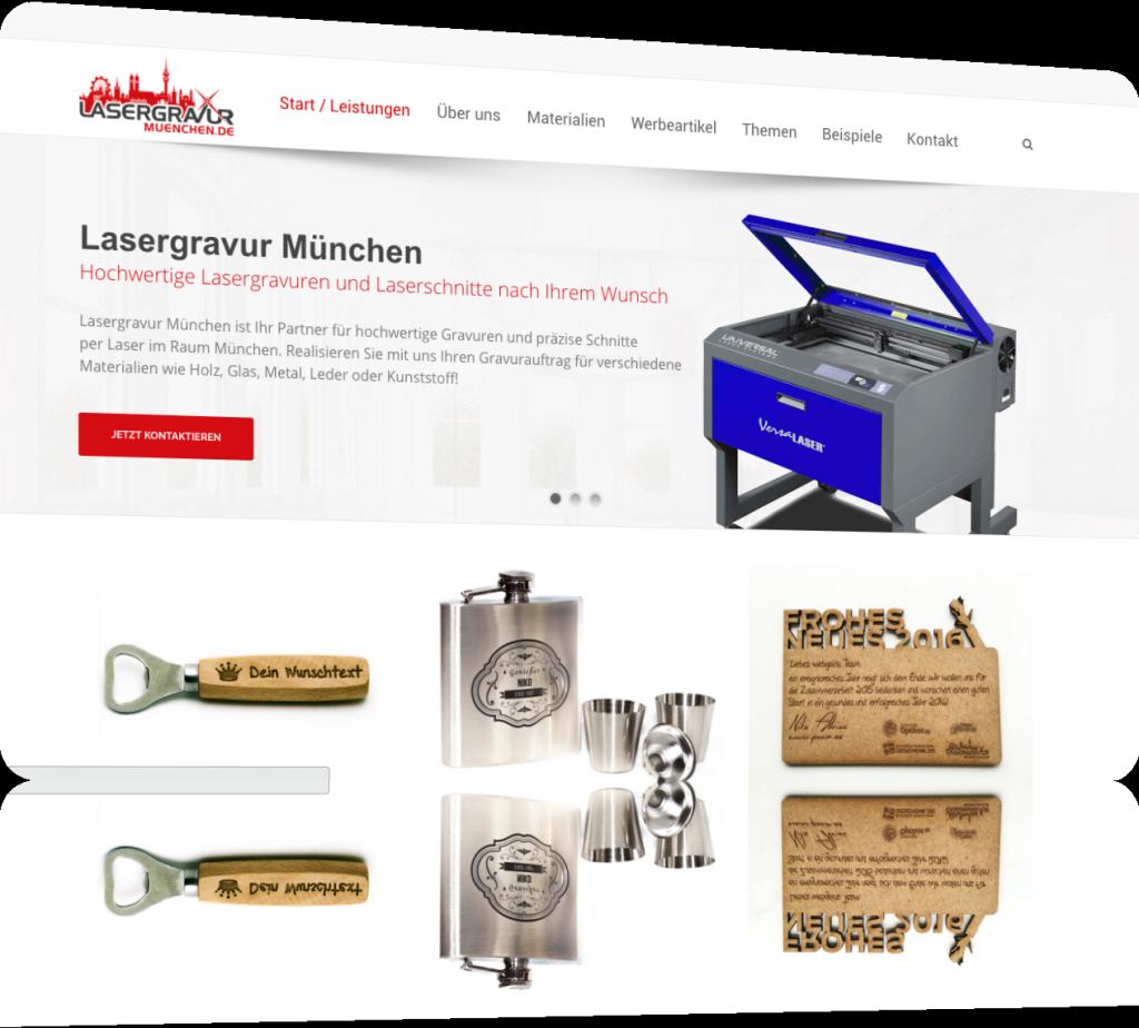Lasergravur in München